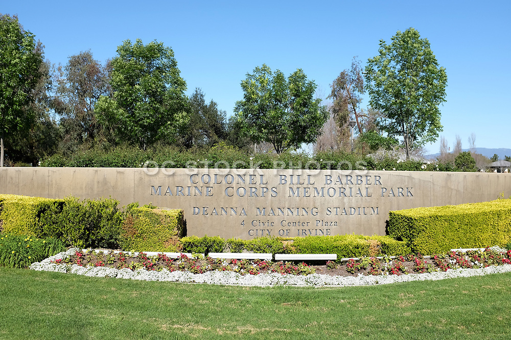 Colonel Bill Barber Marine Corps Memorial Park and Deanna Manning Stadium