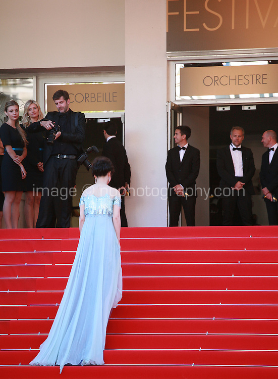 Zhao Tao, at the Palme d'Or  Closing Awards Ceremony red carpet at the 67th Cannes Film Festival France. Saturday 24th May 2014 in Cannes Film Festival, France.