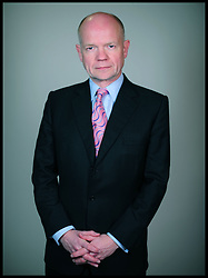 First Secretary of State, Secretary of State for Foreign and Commonwealth Affairs – The Rt Hon William Hague MP. Photo By Andrew Parsons/ i-Images