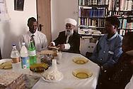 "kees Adana, great raby of the ""bata Israel Jews in Ethiopia and his sohn, Great rabbi of Ethiopian Jews in Israel  Beit Shemesh  Israel  Youssouf adana son fils /// religion ///  judaisme   /// le Kees Adana, grand rabbin des juifs ""Beta israel"" d'Ethiopie, et son fils le grand rabin (sepharade) des Ethiopiens d'israel  Beit Shemesh  Israel youssouf his sohn  /// R00287/    L004339  /  P0007213"