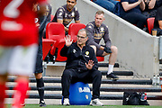 Leeds United Manager Marcelo Bielsa    during the EFL Sky Bet Championship match between Bristol City and Leeds United at Ashton Gate, Bristol, England on 4 August 2019.