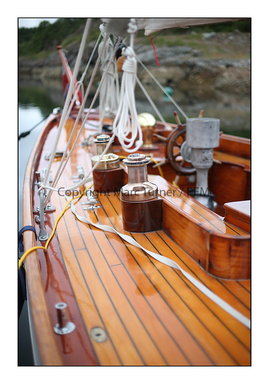 Day five of the Fife Regatta, lay day in Portavadie<br /> <br /> Solway Maid, Roger Sandiford, GBR, Bermudan Cutter, Wm Fife 3rd, 1940<br /> <br /> * The William Fife designed Yachts return to the birthplace of these historic yachts, the Scotland&rsquo;s pre-eminent yacht designer and builder for the 4th Fife Regatta on the Clyde 28th June&ndash;5th July 2013<br /> <br /> More information is available on the website: www.fiferegatta.com