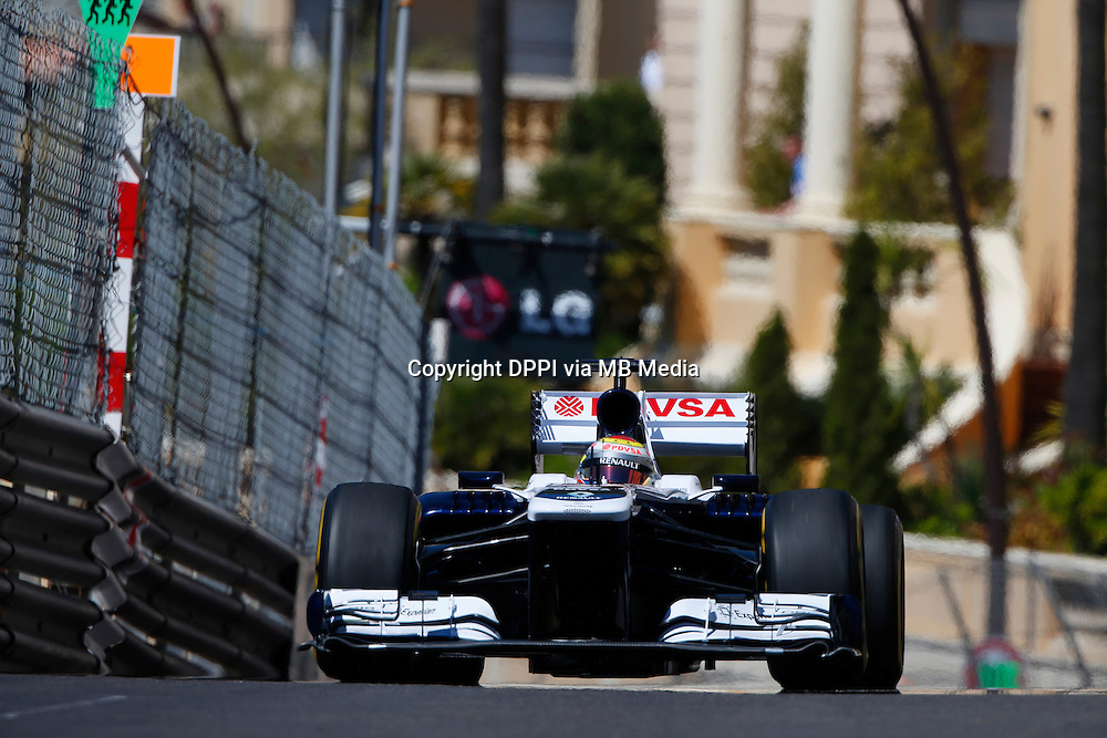 MOTORSPORT - F1 2013 - GRAND PRIX OF MONACO / GRAND PRIX DE MONACO - MONTE CARLO (MON) - 23 TO 26/05/2013 - PHOTO JEAN MICHEL LE MEUR / DPPI - MALDONADO PASTOR (VEN) - WILLIAMS F1 RENAULT FW35 - ACTION