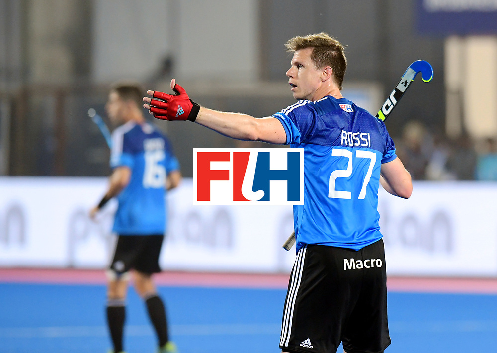 Odisha Men's Hockey World League Final Bhubaneswar 2017<br /> Match id:14<br /> England v Argentina<br /> Foto: Lucas Rossi (Arg) <br /> COPYRIGHT WORLDSPORTPICS FRANK UIJLENBROEK