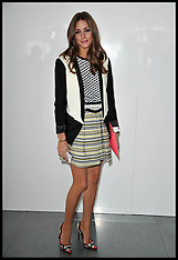 FEB 17 2013 Celebs London fashion Week