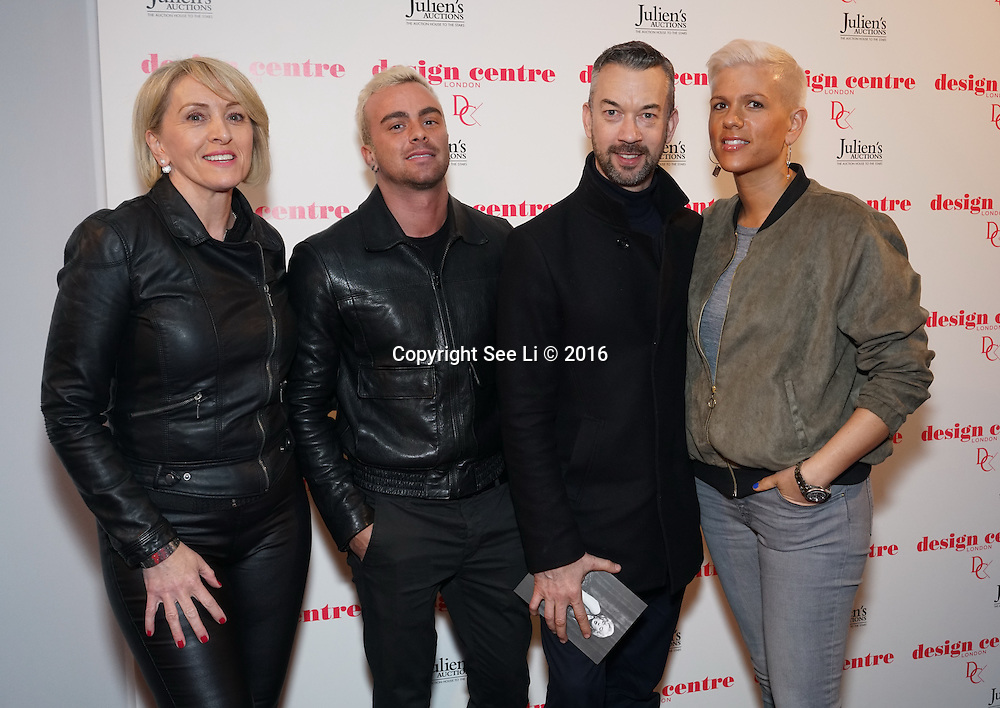 London,England,UK : 25th May 2016 : Frio Richard Ward attend the Marilyn Monroe: Legacy of a Legend launch at the Design Centre, Chelsea Harbour, London. Photo by See Li