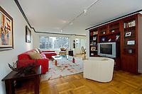 Living Room at 150 East 61st Street