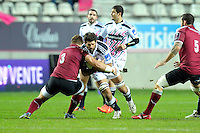 Hugh Pyle - 11.12.2014 - Stade Francais / Newcastle Falcons - European Rugby Challenge Cup<br />