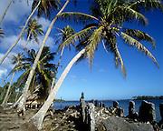 Marae, Huahini, French Polynesia