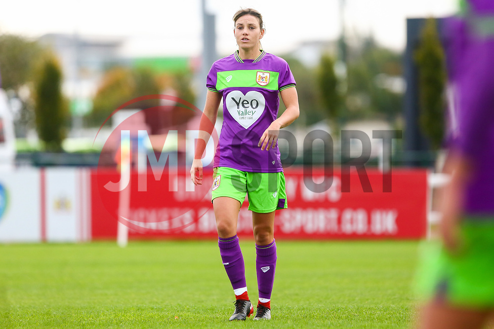Gemma Evans of Bristol City - Mandatory by-line: Ryan Hiscott/JMP - 14/10/2018 - FOOTBALL - Stoke Gifford Stadium - Bristol, England - Bristol City Women v Birmingham City Women - FA Women's Super League 1