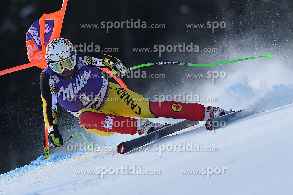 12.03.2016, Olympiabakken, Kvitfjell, NOR, FIS Weltcup Ski Alpin, Kvitfjell, Abfahrt, Herren, im Bild Manuel Osborne-Paradis (CAN) // Manuel Osborne-Paradis of Canada competes during his run for the men's Downhill of Kvitfjell FIS Ski Alpine World Cup at the Olympiabakken in Kvitfjell, Norway on 2016/03/12. EXPA Pictures © 2016, PhotoCredit: EXPA/ Jonas Ericsson