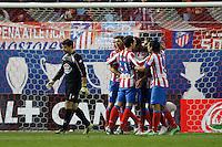 09.12.2012 SPAIN -  La Liga 12/13 Matchday 15th  match played between Atletico de Madrid vs R.C. Deportivo de la Courna (6-0) at Vicente Calderon stadium. The picture show Diego da Silva Costa (Brazilian midfielder of At. Madrid)