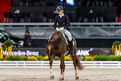 KUDERNAK Nina (GER), Dione<br /> Stuttgart - German Masters 2019<br /> PREIS DER LISELOTT SCHINDLING STIFTUNG ZUR FÖRDERUNG DES DRESSURREITSPORTS<br /> Piaff Förderpreis Finale<br /> Nat. Dressurprüfung Kl. S***<br /> Grand Prix<br /> 15. November 2019<br /> © www.sportfotos-lafrentz.de/Stefan Lafrentz