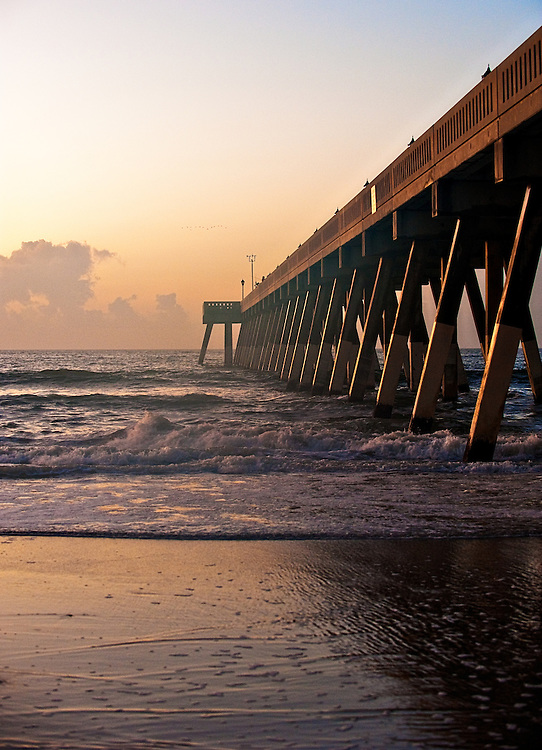 Early Morning Mercers Pier, Wrightsville Beach, NC