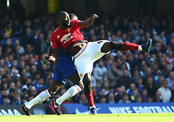 October 20, 2018 - London, England, United Kingdom - London, England - October 20: 2018.Manchester United's Romelu Lukaku.during Premiership League between Chelsea and Manchester United at Stamford Bridge stadium , London, England on 20 Oct 2018. (Credit Image: © Action Foto Sport/NurPhoto via ZUMA Press)