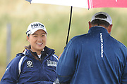 So Yeon Ryu is all smiles during the final round of the Aberdeen Standard Investment Ladies Scottish Open 2018 at Gullane Golf Club, Gullane, Scotland on 29 July 2018. Picture by Kevin Murray.