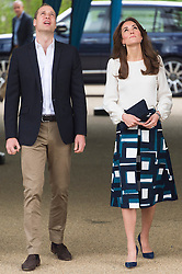 © Licensed to London News Pictures. 16/05/2016. The Duke and Catherine, Duchess of Cambridge attend the launch of their Heads Together campaign to eliminate stigma on mental health London, UK. Photo credit: Ray Tang/LNP