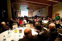Slovenia's Athlete of the year award ceremony by Slovenian Athletics Federation AZS, on November 12, 2008 in Hotel Mons, Ljubljana, Slovenia.(Photo By Vid Ponikvar / Sportida.com) , on November 12, 2010.