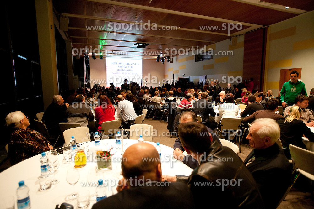 Slovenia's Athlete of the year award ceremony by Slovenian Athletics Federation AZS, on November 12, 2008 in Hotel Mons, Ljubljana, Slovenia.(Photo By Vid Ponikvar / Sportida.com) , on November 12, 2010.