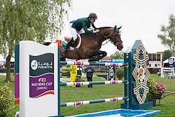 McAuley Mark (IRL) - Isco de Amoranda <br /> Furusiyya FEI Nations Cup<br /> Longines Spring Classic of Flanders<br /> CSIO5 Jumping Lummen 2014<br /> © Dirk Caremans