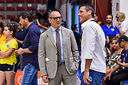 Egidio Bianchi, Matteo Solaini<br /> Banco di Sardegna Dinamo Sassari - Umana Reyer Venezia<br /> LBA Serie A Postemobile 2018-2019 Playoff Finale Gara 6<br /> Sassari, 20/06/2019<br /> Foto L.Canu / Ciamillo-Castoria
