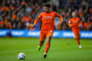 Luton Town defender James Justin (2) during the EFL Sky Bet League 1 match between Luton Town and Oxford United at Kenilworth Road, Luton, England on 4 May 2019.