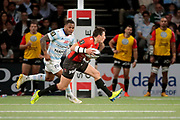 FRANCOIS TRINH DUC (Rugby Club Toulonnais), Virimi Vakatawa (Racing 92) during the French Championship Top 14 Rugby Union match between Racing 92 and RC Toulon on April 8, 2018 at U Arena in Nanterre, France - Photo Stephane Allaman / ProSportsImages / DPPI