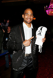 11.01.2014, Ballsaal Berlin Europapark, Rust, GER, 50 Jahre Henry Maske, Roter Teppich zum 50. Geburtstag von Henry Maske, im Bild Yoan Pablo Hernandez (ehem Boxer, IBF-Weltmeister) // during red carpet to 50th Birthday of Henry Maske Ballsaal Berlin Europapark in Rust, Germany on 2014/01/11. EXPA Pictures © 2014, PhotoCredit: EXPA/ Eibner-Pressefoto/ BW-Foto<br /> <br /> *****ATTENTION - OUT of GER*****