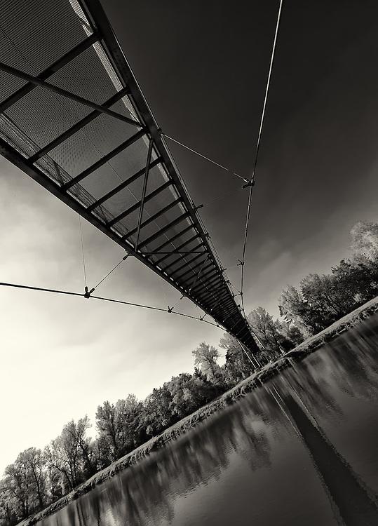Bridge over Labe river