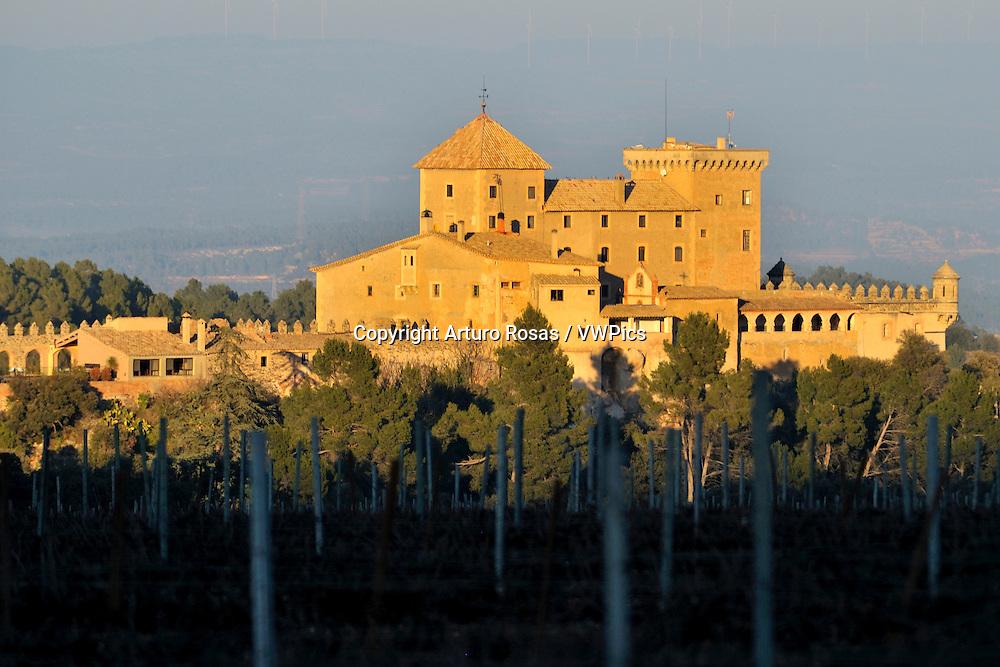 The Riudabella Castle. Tarragona (Catalonia), Spain.