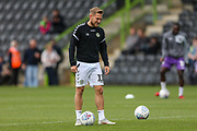 Forest Green Rovers George Williams(11) warming up during the EFL Sky Bet League 2 match between Forest Green Rovers and Port Vale at the New Lawn, Forest Green, United Kingdom on 8 September 2018.