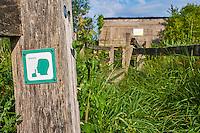 France, Indre (36), le Berry, parc naturel régional de la Brenne, Rosnay, observatoire // France, Indre (36), le Berry, Brenne, natural park, observatory