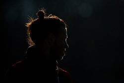 CARDIFF, WALES - Sunday, November 18, 2018: Wales' Gareth Bale during a training session at the Vale Resort ahead of the International Friendly match between Albania and Wales. (Pic by David Rawcliffe/Propaganda)