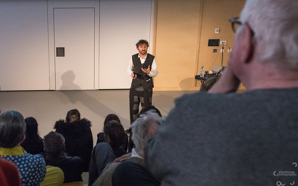Thomas Heatherwick gives his Donaldson Lecture, Here East, London, 28th, March 2018