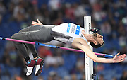 Bohdan Bondarenko (UKR) wins the high jump at 7-7 (2.31m) during the 39th Golden Gala Pietro Menena in an IAAF Diamond League meet at Stadio Olimpico in Rome on Thursday, June 6, 2019. (Jiro Mochizuki/Image of Sport)