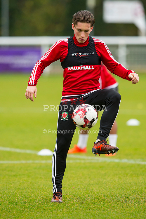 BANGOR, WALES - Tuesday, November 7, 2017: Wales' Harry Wilson during a training session at VSM Bangor City Stadium ahead of the UEFA Under-21 European Championship Qualifying Group 8 match against Bosnia and Herzegovina. (Pic by Paul Greenwood/Propaganda)