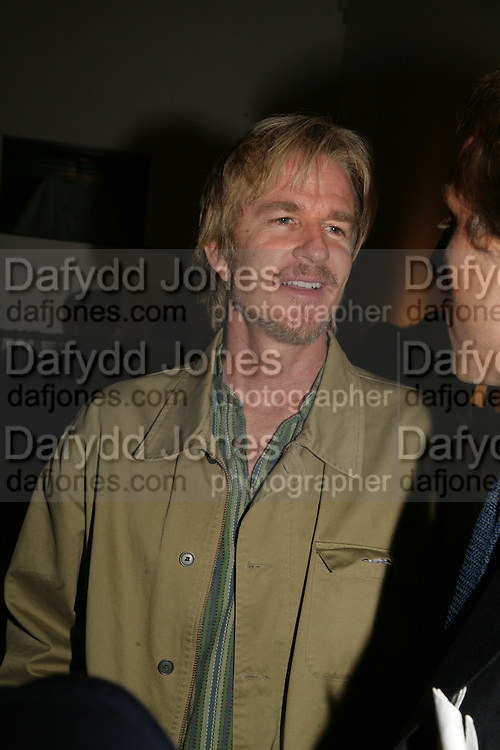 Matthew Modine , Michael Roberts - book launch party hosted by Vanity Fair to celebrate  publication, Shot In Sicily. Hamiltons Gallery, 13 Carlos Place, London,17 September 2007. -DO NOT ARCHIVE-© Copyright Photograph by Dafydd Jones. 248 Clapham Rd. London SW9 0PZ. Tel 0207 820 0771. www.dafjones.com.