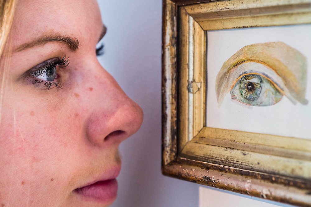 The Sisters - Lucian Freud  at Ordovas - Portraits chronicling the relationship of Lucian Freud and Caroline (Lady Caroline Blackwood, his second wife), dating from 1950s. The four paintings on show are - The Sisters, a delicate canvas from 1950, a life-size depiction of Caroline's eye, which is being shown for the first time in the UK and is the earliest work in the exhibition; Girl in Bed; Girl Reading; and Girl by the Sea. They will be on show from 5 June until 1 August.