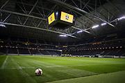 SOLNA, SVERIGE - 2017-11-08: Generell vy under Sveriges landslags  tr&auml;ning inf&ouml;r FIFA World Cup play off mellan Sverige och Italien den 8 november, 2017. Foto: Nils Petter Nilsson/Ombrello<br /> ***BETALBILD***