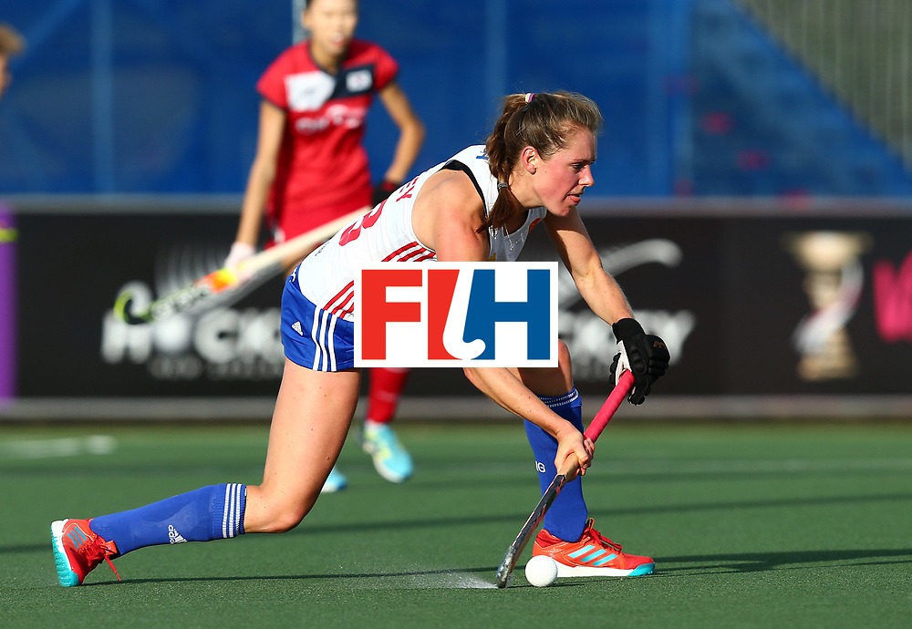 New Zealand, Auckland - 26/11/17  <br /> Sentinel Homes Women&rsquo;s Hockey World League Final<br /> Harbour Hockey Stadium<br /> Copyrigth: Worldsportpics, Rodrigo Jaramillo<br /> Match ID: 10321 - KOR vs ENG<br /> Photo: (18) ANSLEY Giselle
