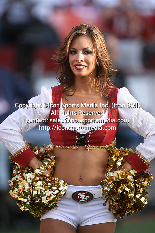 November 8, 2009; The 49ers Gold Rush during the game. The Tennessee Titans defeated the San Francisco 49ers by the final score of 34-27 at Candelstick Park in San Francisco, CA.