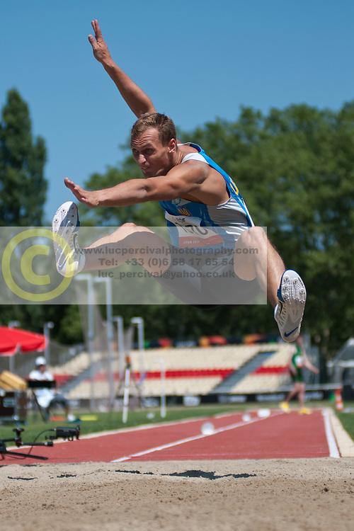 ONUFRIYENKO Andriy, UKR, Long Jump, T37/38, 2013 IPC Athletics World Championships, Lyon, France
