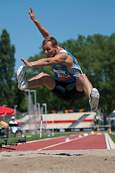 ONUFRIYENKO Andriy, UKR, Long Jump, T37/38, 2013 IPC Athletics World Championships, Lyon, France