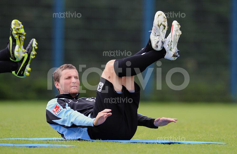 FUSSBALL     2. BUNDESLIGA     SAISON 2009/2010     09.07.2009 Training beim TSV 1860 Muenchen Benjamin Lauth ( 1860 Muenchen)