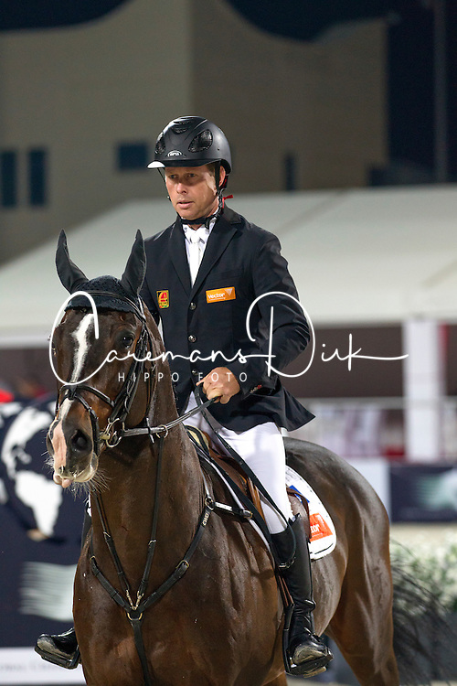 Bengtsson Rolf Goran (SWE) - Casall La Silla<br /> Final Global Champions Tour - Abu Dhabi 2012<br /> &copy; Hippo Foto - Cindy Voss