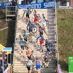26-01-2020: Wielrennen: Wereldbeker Veldrijden: Hoogerheide  <br />Impressie juniorenwedstrijd