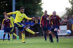 Bristol City's Aaron Amadi-Holloway - Photo mandatory by-line: Dougie Allward/JMP - Tel: Mobile: 07966 386802 03/07/2013 - SPORT - FOOTBALL - Bristol -  Ashton and Backwell United V Bristol City - Pre Season Friendly