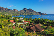 Notre Dame Cathedral,Taiohae, Nuku Hiva, Marquesas; French Polynesia; South Pacific
