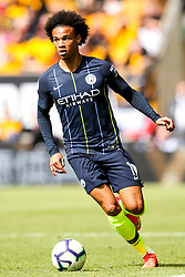 Leroy Sane of Manchester City - Mandatory by-line: Robbie Stephenson/JMP - 25/08/2018 - FOOTBALL - Molineux - Wolverhampton, England - Wolverhampton Wanderers v Manchester City - Premier League