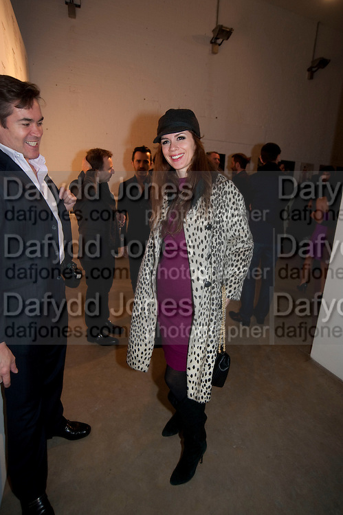 LARA BOHINC, Wallpaper* Design Awards. Wilkinson Gallery, 50-58 Vyner Street, London E2, 14 January 2010 *** Local Caption *** -DO NOT ARCHIVE-© Copyright Photograph by Dafydd Jones. 248 Clapham Rd. London SW9 0PZ. Tel 0207 820 0771. www.dafjones.com.<br /> LARA BOHINC, Wallpaper* Design Awards. Wilkinson Gallery, 50-58 Vyner Street, London E2, 14 January 2010
